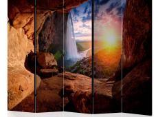 Paraván - Cave: Seljalandsfoss Waterfall II [Room Dividers]